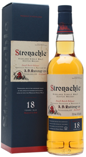 Stronachie Scotch Single Malt 18 Year 750ml